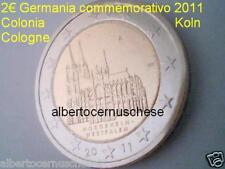 2 euro 2011 GERMANIA Allemagne Colonia Cologne Koln Deutschland Germany Alemania