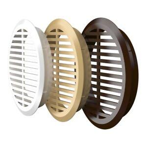 42mm / 50mm Round Air Vent Grille Door Furniture Round Ventilation Cover Plugs