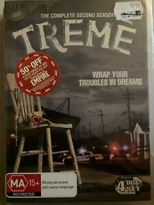 TREME - Complete Second Season 4 x DVD 2011 Two Series 2 Brand New 0621