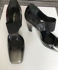 Prada Ombre Color Patent Leather High Heels With Strap size 39
