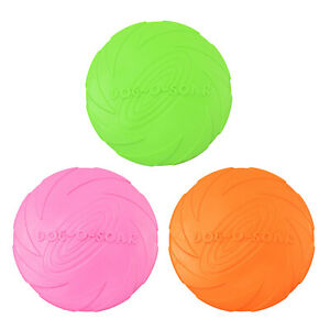 Interactive Dog Toys Flyer Exercise Pet Training Puppy Saucer Flying Discs