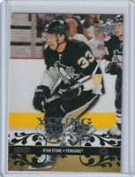 RYAN STONE YOUNG GUNS ROOKIE Card 2008 2009 UPPER DECK #240 PITTSBURGH PENGUINS