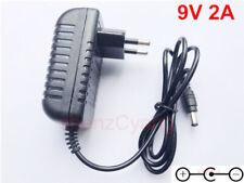 AC/DC 9V 2A Switching Power Supply adapter Reverse Polarity Negative Inside EU