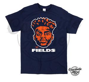 Justin Fields Bears logo Shirt adult mens chicago
