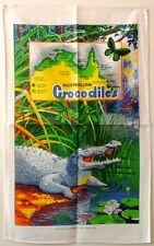 Tea Towel - Australian Crocodiles - 100% Cotton