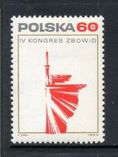 POLAND MNH 1969 SG1929 4TH CONGRESS OF FIGHTERS FOR FREEDOM & DEMOCRACY ASSOC