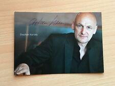 Autogrammkarte - STEPHAN KORVES - SCHAUSPIELER - orig. signiert #466