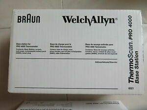 ***NEW***Welch Allyn Braun Pro 4000 Thermoscan with Charging station