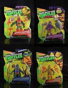 Teenage mutant ninja turtles mystic set of 4