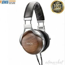 DENON headphone over ear high responded correspondence wood housing AH-D7200