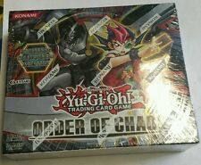 YUGIOH Order Of Chaos English Booster Box  24ct. RARE 1st Edition