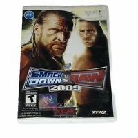 WWE SmackDown vs. Raw 2009 Featuring ECW Nintendo Wii Tested Works CIB Complete