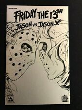 Friday the 13th Jason Vs Jason X # 1 - Nanosteel Variant
