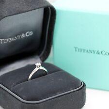 Tiffany & Co. Verlobungsring Platin 950-Gr.49 - Box & Zertifikat 0,18 ct - VVS1