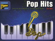 POP HITS per i bambini più facile per Pianoforte Songbook facile LIBRO MUSICA