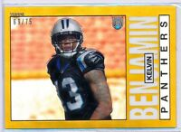 KELVIN BENJAMIN - 2014 Topps Chrome 1985 GOLD Refractor - FSU - Panthers /75