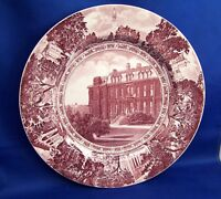 "WEDGWOOD  UNIVERSITY OF CALIFORNIA BERKELEY  ""SOUTH HALL 1873""  DINNER PLATE"
