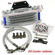 Oil Cooler Radiator FIt Chinese Dirt Pit Bike Monkey Motorcycle 50cc 70 90 110cc