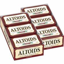 NEW! ALTOIDS CINNAMON Mints CURIOUSLY STRONG 12 Tins 1/23 FRESH Breath FREE SHIP