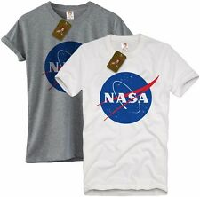 NASA Geek Nerd Retro Astronaut Logo unisex T Shirt Tumblr galaxy space tee S-XL