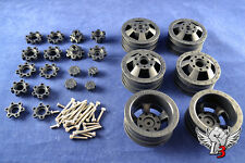 AXIAL RACING SCX10 DUALLY RIMS - FULLY ADJUSTABLE R/C TRUCK RIM KIT FOR 1.9 RIMS
