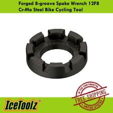 IceToolz Forged 8-groove Spoke Wrench 12F8 Cr-Mo Steel Bike Cycling Tool