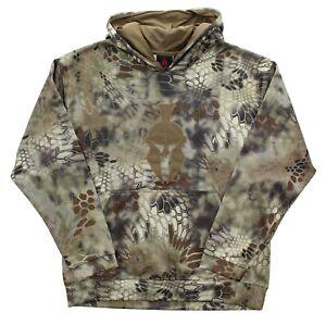 Kryptek Tartaros Men's Hoodie Highlander Spartan Logo Camouflage Pullover