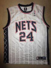 Richard Jefferson Brooklyn Nets NBA Reebok Jersey LG L Steve Kerr Autograph