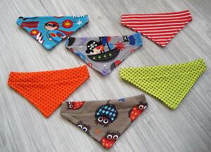 Bandbreite 12mm Hundetuch Halstuch Wechseltuch Hundehalstuch Hundekleidung