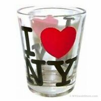 I Love NY Shot Glass - New York City Souvenir Collectible Bar Travel Gift
