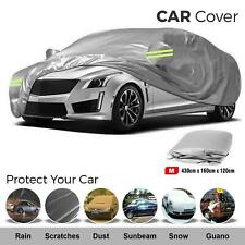 Waterproof Full Car Cover Medium UV Protection Breathable 2 Layer Cotton Lining