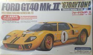 Fujimi Ford GT40-1012 Mk II '67 Daytona Racing 1/24 Model kit New sealed