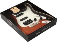 Fender Pre-Wired Strat Pickguard Shawbucker/Gen 4 noiseless HSS Parchment