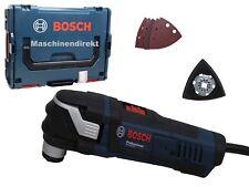 Bosch Multi Cutter GOP 40 30 + Papier abrasif Set 5 pcs + plaque de base velcro