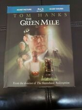 The Green Mile (Blu-ray Disc, 2009, DigiBook) Tom Hanks 32 Page Book Oop