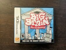 Big Brain Academy (Nintendo Ds, 2006) Cib Complete in Box Tested, Working