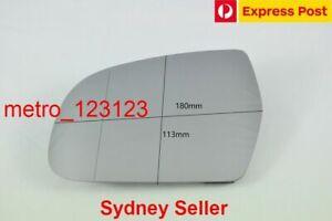 LEFT PASSENGER SIDE MIRROR GLASS FOR AUDI A3 8P 2010 - 3/2013 (check measurement