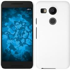 LG G Flex 2 Case Hardcover Rubberized White