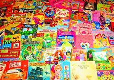 BOY & GIRL Mixed Children/Kid Book Lot FREE SHIPPING-Super Heroes to Tinkerbell+