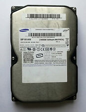 "Samsung Spinpoint P160 SP1614N 160GB 3.5"" Internal IDE HDD - Test OK!"