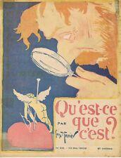 L'assiette au beurre 58 10/05/1902 Qu'est-ce que c'est ?  Georges Meunier Anges
