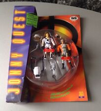 1995# Galoob Jonny Quest Shuttle Pilot Jonny Quest and Drop Zone Race #MOC
