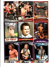 Motor City Machineguns Wrestling Lot of 9 Different Trading Cards WWE TNA MCM-A1