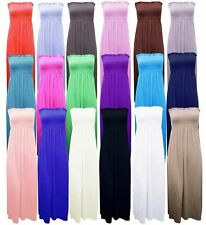 Full Length Bandeau Casual Regular Size Dresses for Women