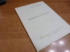 GIORNALISTI IN CUCINA Quaderni del Brandy Italiano n.3 Roma 5 agosto 1966