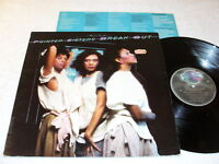 """Pointer Sisters """"Break Out"""" 1983 R&B LP, VG+, LP is the version with Remixes"""