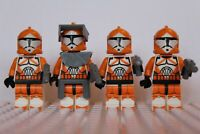 Star Wars Bomb Squad Commandos Storm Clone Troopers Mini Figures use with lego