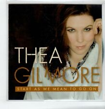 (GS270) Thea Gilmore, Start As We Mean To Go On - 2013 DJ CD