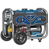 Generatore Benzina Di Corrente Monofase/Trifase Hyundai 65006 5,5 Kw AVR 4 Tempi