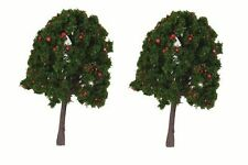 Miniature Fairy Garden Trees/Shrubs w/ Red Fruit - Set of 2 - Buy 3 Save $5